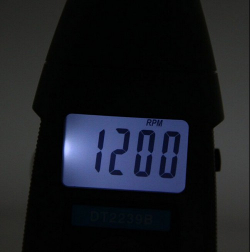 High Precision DT2239B Non-Contact Digital LCD Flashed Stroboscope 19999RPM Tachometer Tester
