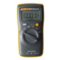 FLUKE 101 Palm-Sized Digital Multimeter Meter Smaller than Fluke 17B No Amp