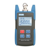 Handheld EF-200C Fiber Optic Optical Power Meter -50~+26dBm 800~1650nm