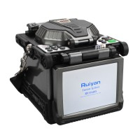 "Free Shipping by DHL! High Quallity 5.6"" LCD RY-F600 Fusion Splicer w/Optical Fiber Cleaver Automatic Focus Function"
