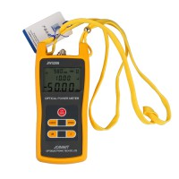 JW3208C Handheld Optical Power Meter Laser Fiber Optic Tool Tester + 5mW Pen Type Visual Fault Finder Locator