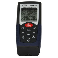 CEM LDM-70 Handheld Digital Laser Distance Meter Volume Test 70m Measuring