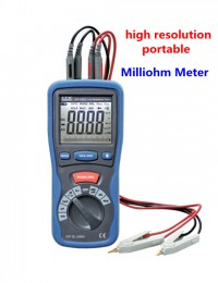 CEM DT5302 Digital High-Accuracy Kelvin 4-Wires Milliohm Meter Tester