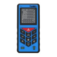Free shipping 5pcs Tuirel T70 Handheld 70m/229ft/2755in Laser Distance Meter Range Finder Measure Instrument Diastimeter