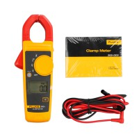 Original Fluke 302+ F302+ Digital Clamp Meter AC/DC Multimeter Tester w/ Case
