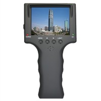 "3.5"" TFT LCD MONITOR CCTV Security Surveillance CAMERA TESTER TEST 12V OUTPUT Free Shipping"