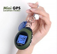 Mini GPS Navigation Receiver Outdoor Handheld Location Finder USB & Compas
