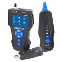 Latest Noyafa NF-8601S TDR Multi-functional LCD Network Cable Tester Tracker For RJ45, RJ11, BNC, Metal Cable,PING/POE