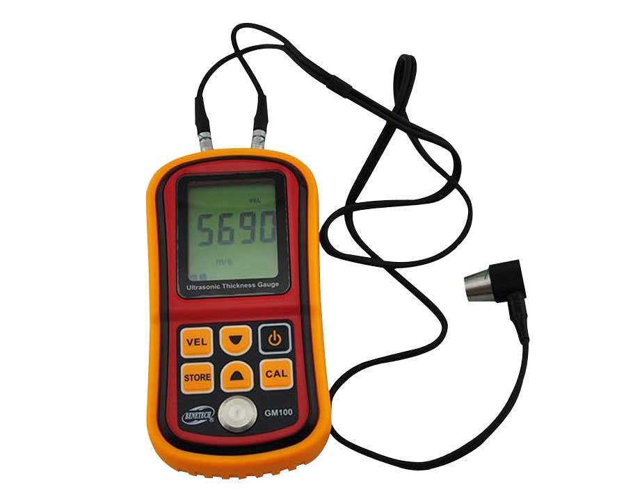 Ultrasonic Wall Thickness Gauge Meter Tester Steel PVC Digital Testing