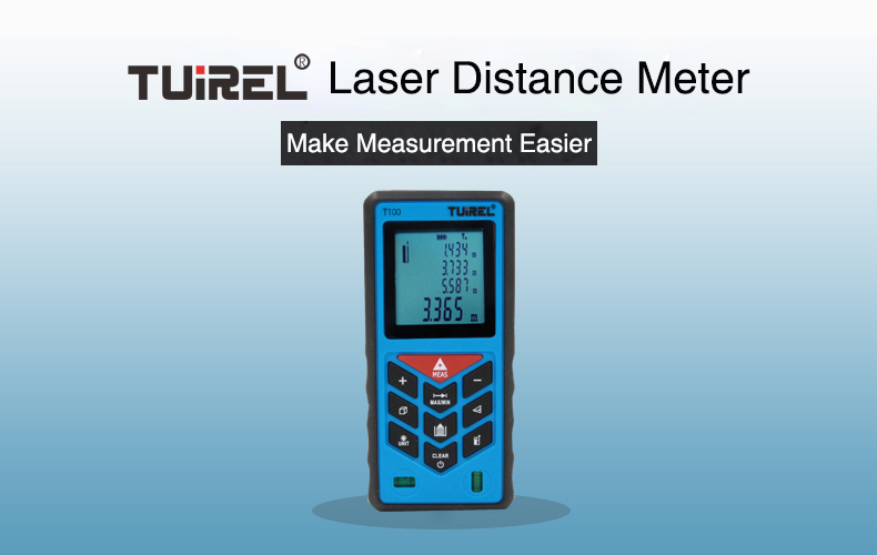 New arrive tuiral t100 100m laster distance meter