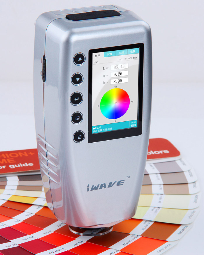 WR10 8mm Portable Digital  Colorimeter/Color meter/Color analyzer