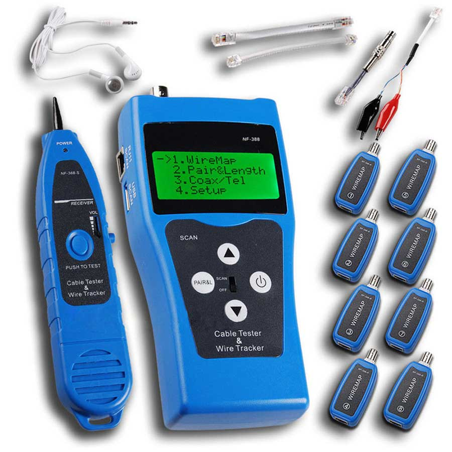 NF388 Network Ethernet LAN Phone Tester Wire Free Shipping