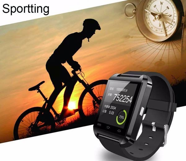 Smart Wrist Watch Phone Mate Bluetooth U8 For iOS iPhone Android HTC Samsung LG